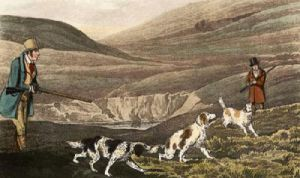 Grouse Shooting (Restrike Etching) by Henry Alken