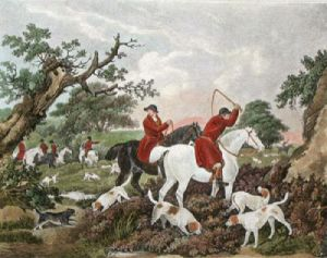 The Check (Restrike Etching) by George Morland