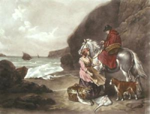 Fruits of the Sea (Restrike Etching) by Anonymous