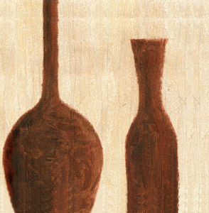 Tuscan Bottle I by Erin Rafferty