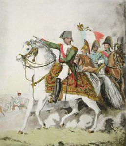 Napoleon (Restrike Etching) by William Heath