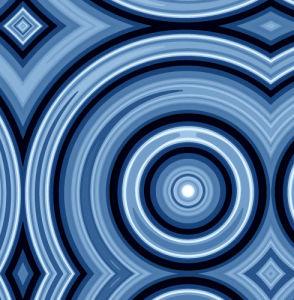 Blue Swirl by Erin Rafferty