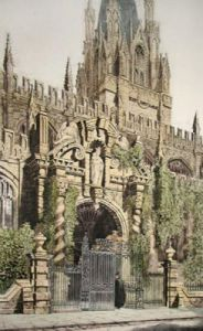 St Mary's Church, Oxford (Restrike Etching) by Anonymous
