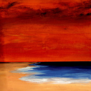 Red Sunset by Erin Rafferty