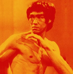 Bruce Lee (orange) by Erin Rafferty