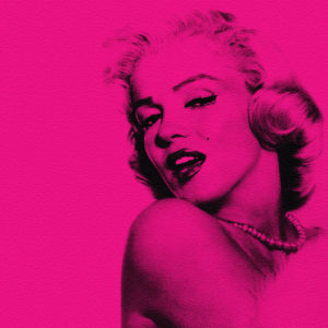 Marilyn in Pink by Erin Rafferty