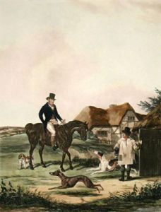 Going Out (Restrike Etching) by William Joseph Shayer