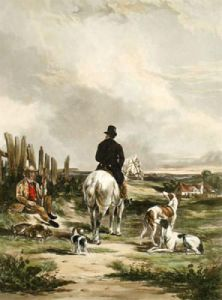 Returning Home (Restrike Etching) by William Joseph Shayer
