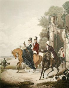 Departure (Restrike Etching) by Francis Calcraft Turner
