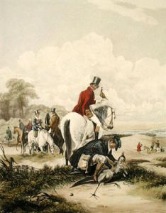Disgorging (Restrike Etching) by Francis Calcraft Turner