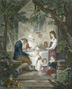 Parental Affection (Restrike Etching) by William Hamilton