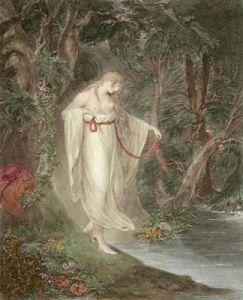 Musidora (Restrike Etching) by William Hamilton