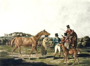 The Foal (Restrike Etching) by Henry Alken