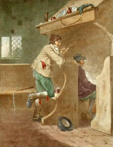 The Alehouse Kitchen (Restrike Etching) by George Morland