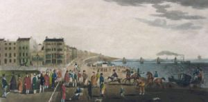Chain Pier at Brighton (Restrike Etching) by Brighty