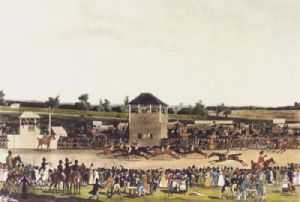 Ascot Heath Races (Restrike Etching) by James Pollard
