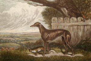 Miss Glendyne (Restrike Etching) by Sidney R. Wombill