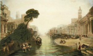 Dido's Fleet at Carthage (Restrike Etching) by Joseph Mallord William Turner