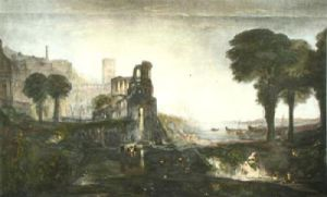 Caligula's Palace (Restrike Etching) by Joseph Mallord William Turner
