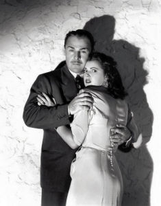 Brian Donlevy with Diana Barrymore (Nightmare) by Celebrity Image