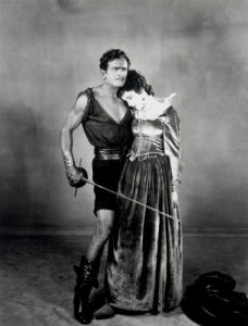 Douglas Fairbanks Sr. (The Black Pirate) by Celebrity Image