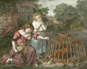 Rural Amusement (Restrike Etching) by James Russell