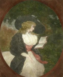 Delia (Restrike Etching) by George Morland