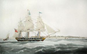 Lady Kennaway (Restrike Etching) by W.J. Huggins