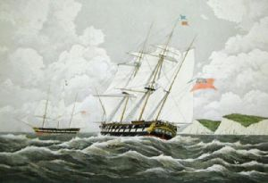 Wellington (Restrike Etching) by W.J. Huggins