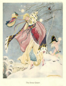 The Snow Queen (Gravure etchings) by Elizabeth Cochrane