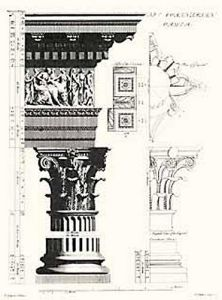 Columns- Corinthian Order by Chambers