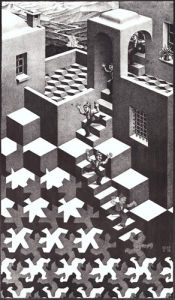 Cycle by M.C. Escher