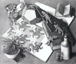 Reptiles by M.C. Escher