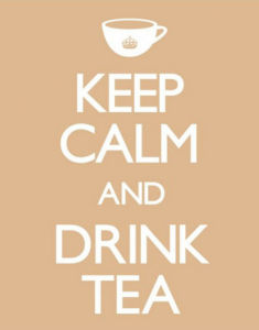 Keep Calm and Drink Tea by Mini
