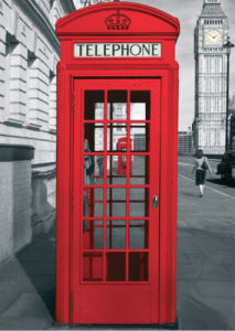 London - Telephone Box by Anonymous