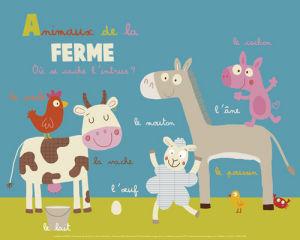Animaux de la ferme by Isabelle Jacque