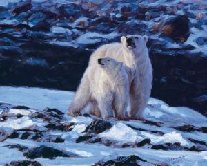 At the Edge of the Bay by John Banovich