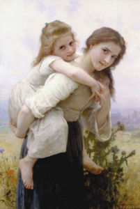 Not Too Much to Carry by Adolphe William Bouguereau