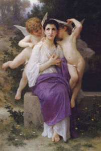 L'Eveil Du Coeur by Adolphe William Bouguereau
