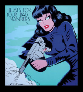That's for your Bad Manners by Niagara Detroit