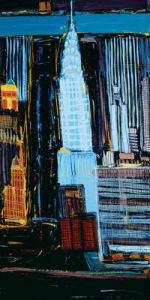 Manhattan Skyline by Mark Gleberzon