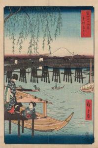 Ryogoku by Ando Hiroshige