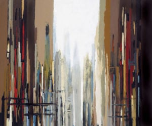 Urban Abstract No. 159 by Gregory Lang
