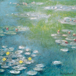 Nympheas at Giverny by Claude Monet