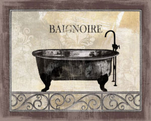 Bath Silhouette I by NBL Studio