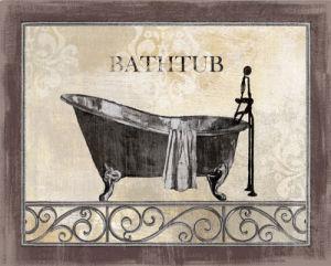 Bath Silhouette II by NBL Studio