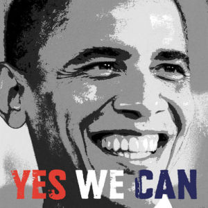 Barack Obama: Yes We Can by Celebrity Photo