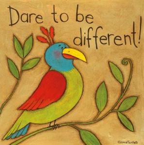 Be Different by Anne Tavoletti