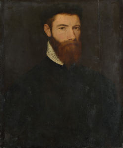Portrait of a Man by Moretto da Brescia