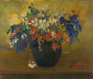 A Vase of Flowers by Paul Gauguin